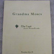 Image of Elm Court Moses Show Catalogue - Elm Court