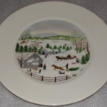 Image of Plate, Decorative