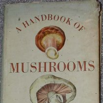 Image of Book - A Handbook of mushrooms.