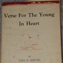 Image of Book - Verse for the young in heart.
