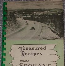 Image of Book - Treasured Recipes from Spokane, heart of the Pacific Northwest, the land of good living.