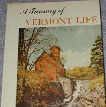 Image of Book - A Treasury of Vermont life.