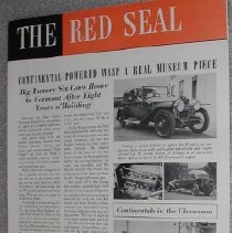 """Image of """"The Red Seal"""" magazine - Continental Motors Corporation"""