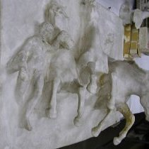 "Image of Sculpture - Plaster study for ""Flight of Night"""