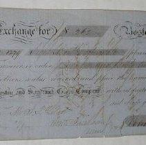Image of Boston and Sandwich Glass Company Bank Note - Boston and Sandwich Glass Co.