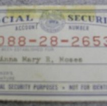 Image of Social Security Card -