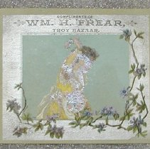 Image of Frear's Troy Bazaar Advert - Frear, William H.