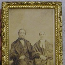 Image of Wright and wife
