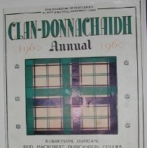Image of The Clan-Donnachaidh Annual for 1960 -