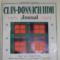 Image of The Clan-Donnachaidh Annual for 1959 -