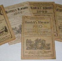 Image of Magazine - National Calendar or Herrick's almanac ...1911.