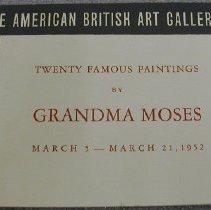 Image of American British Art Gallery Catalogue -