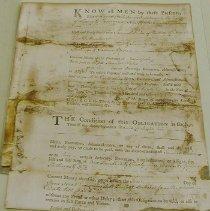 Image of Galusha, David - Loan Agreement -