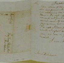 Image of Letter to Stephen Robinson, 1803 - Eliott, James