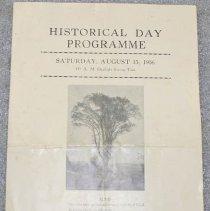 Image of Whitingham Historical Day Program - Whitingham (Vt.)