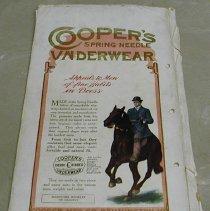 Image of Cooper Spring Needle Underwear Advertisement - Burr McIntosh Monthly