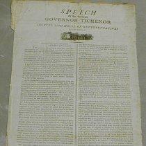 Image of Isaac Tichenor Speech - Tichenor, Isaac