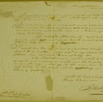 Image of L. Rockwell Letter to Col. P. P. Schuyler - Rockwell, L.