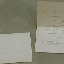 Image of Griswold - Wedding Invitation -