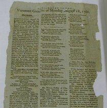 Image of Vermont Gazette, 1788 - Vermont Gazette
