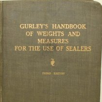 Image of Book - A handbook for the use of sealers of weights and measures