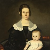 Image of Painting - Woman and Child