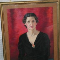 Image of Painting - Girl in Black