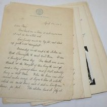 Image of Marie Maguire Letter -
