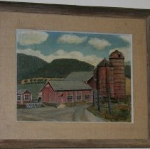 Image of Painting - Vermont Scene