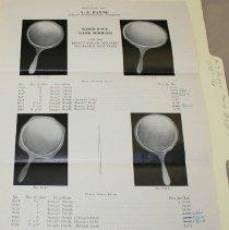 Image of A.S. Payne Inc. Hand Mirror Price List - A.S. Payne