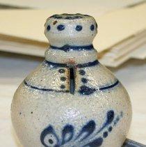 Image of Bank, Still - Norton stoneware with cobalt decoration