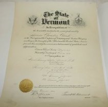 Image of Certificate, Achievement