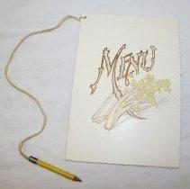 Image of Menu with gag descriptions- Social Event -