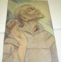Image of Drawing - Study for Stigmatization of St. Francis
