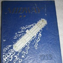 Image of Yearbook - USS Midway 1953.