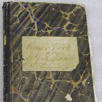 Image of Libby Prison Order and Correspondence Book - Libby Prison