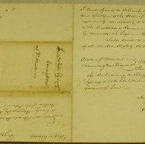 Image of Nuel Squires Commission  - Vermont. Militia