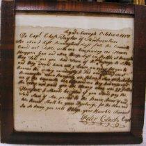 Image of Peter Clark Letter    - Clark, Peter
