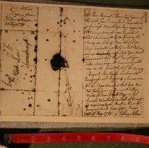 Image of Ethan Allen Letter (copy)                                  - Allen, Ethan