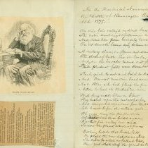 Image of William Cullen Bryant Letter - Bryant, William Cullen