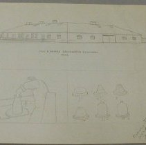 Image of E. & L.P. Norton Pottery Drawing by W.G. Leake - Leake, William G.
