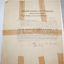 Image of Haswell, Anthony J. Masonic Document -