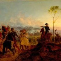 Image of Painting - The Battle of Bennington, August 16, 1777