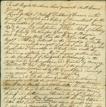 "Image of Ethan Allen Deed - Dutcher, ""Ruluff"" (Rufus)"