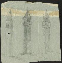 Image of Bennington Battle Monument Sketches - Warner, Olin M.