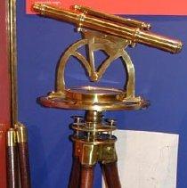 Image of Theodolite on display