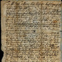 Image of Samuel Robinson Deed - Fay, Stephen (1715-1781)