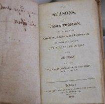 Image of Book - Thompson's Seasons