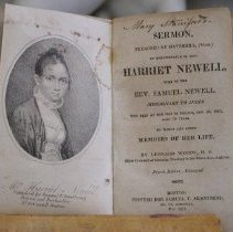 Image of Book - Sermon in Remenbrance of Mrs. H. Newell