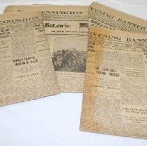 Image of Sesqui-Centennial Newspapers - Bennington Banner